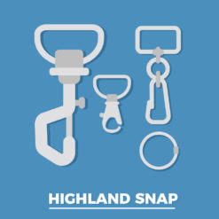 Highland D-Ring Snap *MADE IN USA*