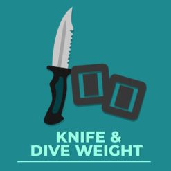 KNIFE & DIVE WEIGHT